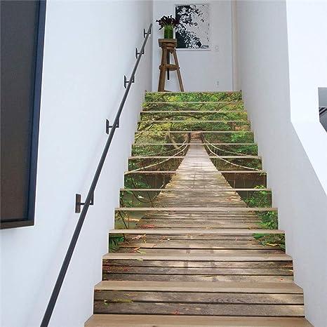 Pegatinas de escaleras Autoadhesivas Apliques Papel Tapiz para Cocina Baño Decoración para El Hogar: Amazon.es: Deportes y aire libre