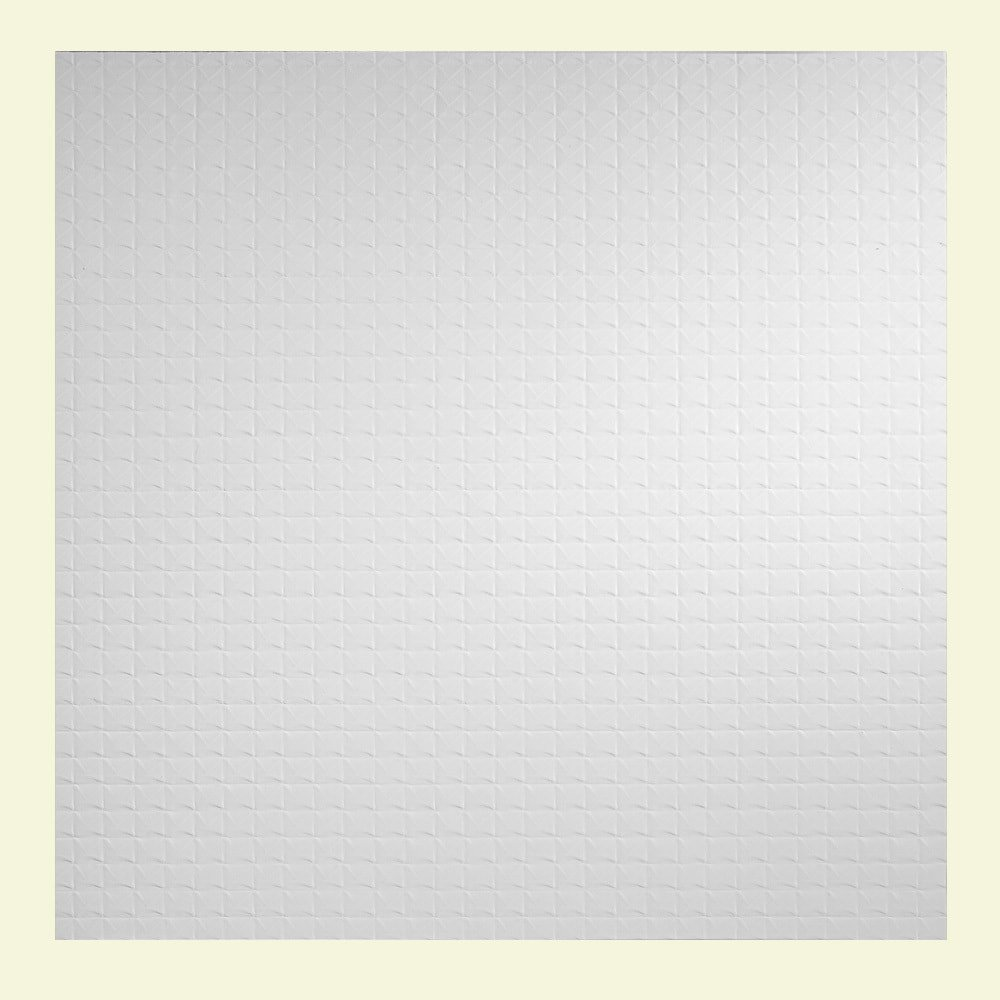 Genesis Easy Installation Classic Pro Lay-In White Ceiling Tile/Ceiling Panel, Carton of 12 (2' x 2' Tile) by Genesis (Image #2)