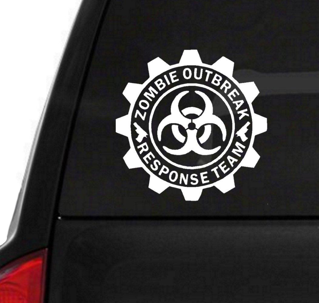 Zombie Outbreak Response Véhicule Autocollant Vinyle Paire