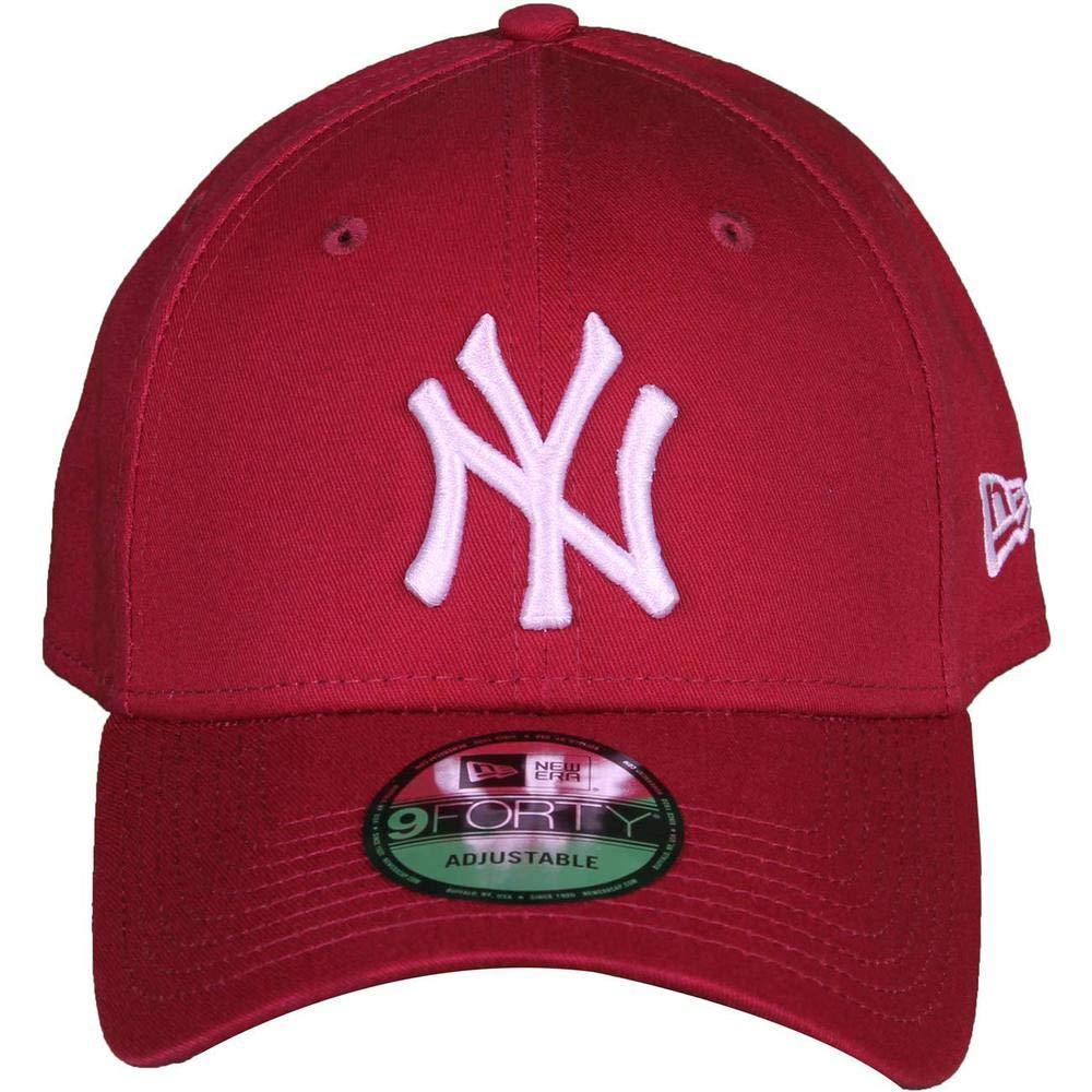 ef77ddc8fdf New Era Men s Essentials New York Yankees 9forty Baseball Cap  New Era   Amazon.co.uk  Clothing