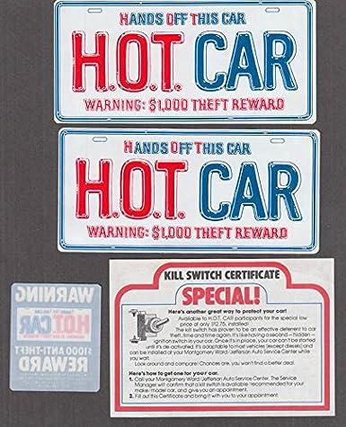 Montgomery Ward Auto Club H O T Car Membership kit 1981 at Amazon's