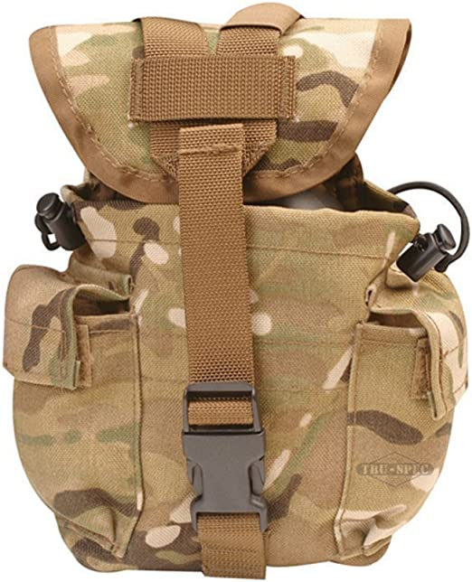 5ive Star Gear 6581000 MOLLE 1 Quart Canteen Pouch Coyote