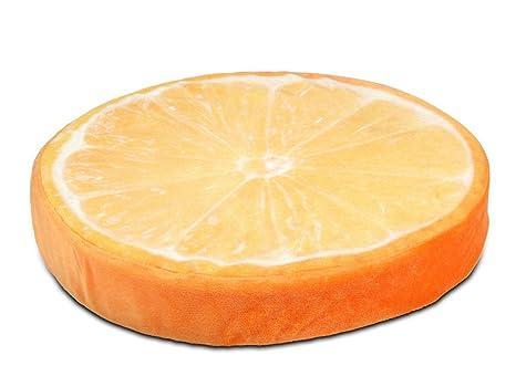 Coussin décoratif Alsino tranche ronde ou rondelle dŽun fruit pour on