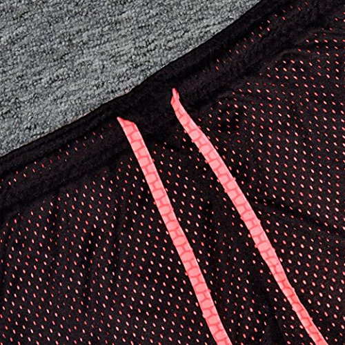Fitness Sport Gym Orange Yoga Hosen Reizvolle Frauen Bequem Damen Yoga Workout dünne Jogginghose Yogahosen mit Binggong Hotpants Shorts Shorts Shorts Hosen Bund Gefütterte tpf7pqw