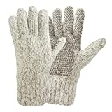 Hot Shot Men's Ragg Wool Glove, Oatmeal, One Size