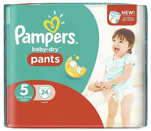 Dry tamaño pañales bebé para 5 Junior 12-18 kg Jumbo Plus Pack 128 Pañales: Amazon.es: Bebé