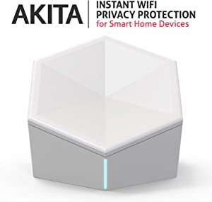 Akita - Cyber IoT Security Device - Protect Your Privacy, Smart Home, and IoT Devices from Botnet, Cryptojacking and AI-Powered Attacks in 5 Easy Steps. 5G (Fifth Generation) Cellular Network Ready!