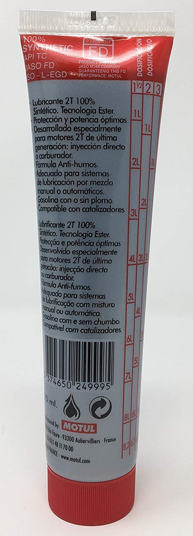 OFERTA 5 BOTES Aceite de mezcla Motul 710 con Tecnología Ester ...