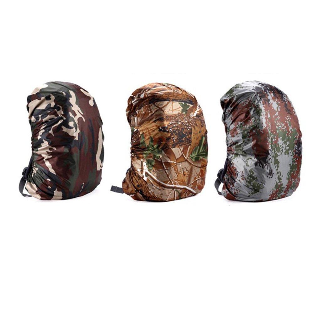 para proteger la mochila de la lluvia Funda para mochila RUNGAO; funda para uso al aire libre senderismo acampada
