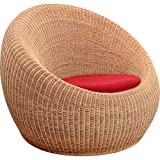 Bengal Basket Sofa Chair (Walnut)