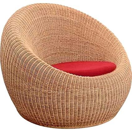 Bengal Basket Sofa Chair (Walnut)