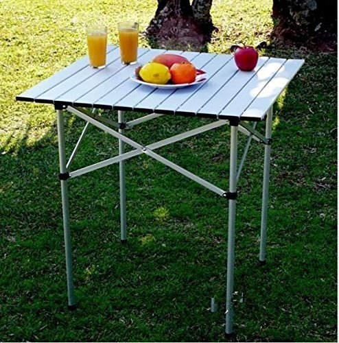 Cosway Portable Folding Fishing Aluminum Picnic Roll Up Square Table Camping Outdoor 27.1X26.7X26.7in(L x W x - Night India Glasses Driving