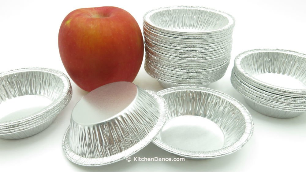 3'' Deep Disposable Aluminum Tart Pans by D & W #A90 (Quantity Pack Options) (2000)