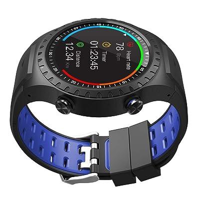 LWPCP El smartwatch, 1.3 HD IPS 240X240 Pantalla Redonda Completa - Modo Multi-Deporte