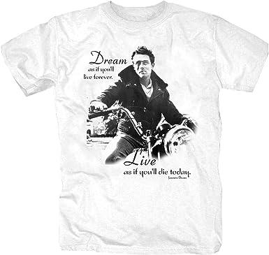 James Dean Star Hollywood Film Retro culto Oldschool Camisa ...