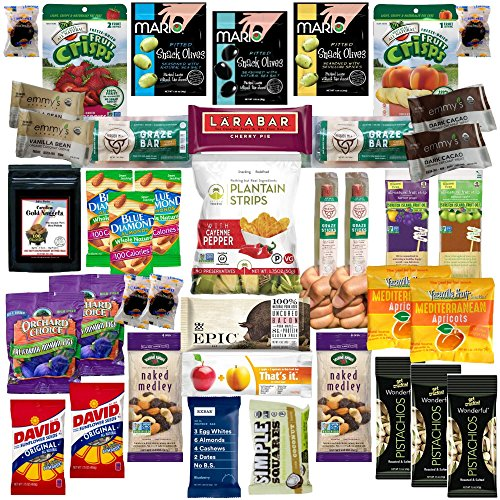 Deluxe Paleo Snacks And Treats By Skyline Snack Company   Fun  Food  Variety For The Whole Family   Healthy Gift Basket Alternative