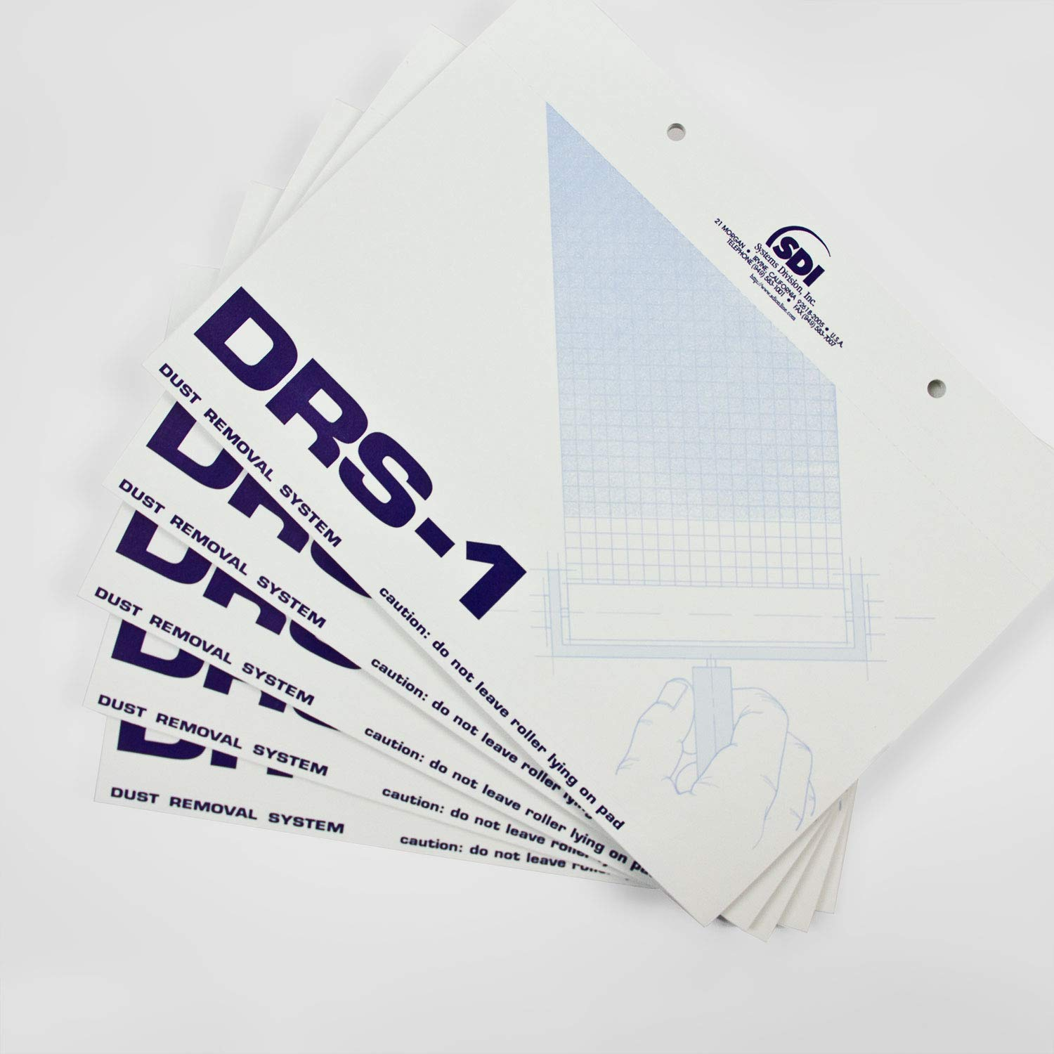 DRS Replacement Cleaning Pads - 5 Pads, 50 sh per pad by SDI, LLC. (Image #2)