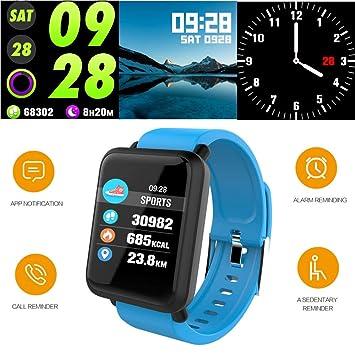 Reloj Inteligente Hombre Smartwatch,Reloj Mujer Deportivo,Pulsera ...