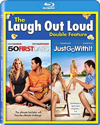 Amazon Com 50 First Dates Just Go With It Set Blu Ray Rob