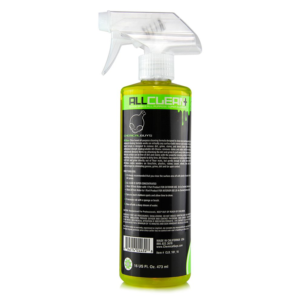 Chemical Guys CLD_101_16C12 All Clean+ Citrus Based All Purpose Super Cleaner (16 oz) (Case of 12) by Chemical Guys (Image #4)