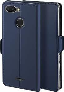 Libra_J Case for Xiaomi Redmi 6 Mobile Phone case, Stand Function Card Slot Magnet Anti-Slip Leather Flip Case Cover for Xiaomi Redmi 6 Mobile Phone case