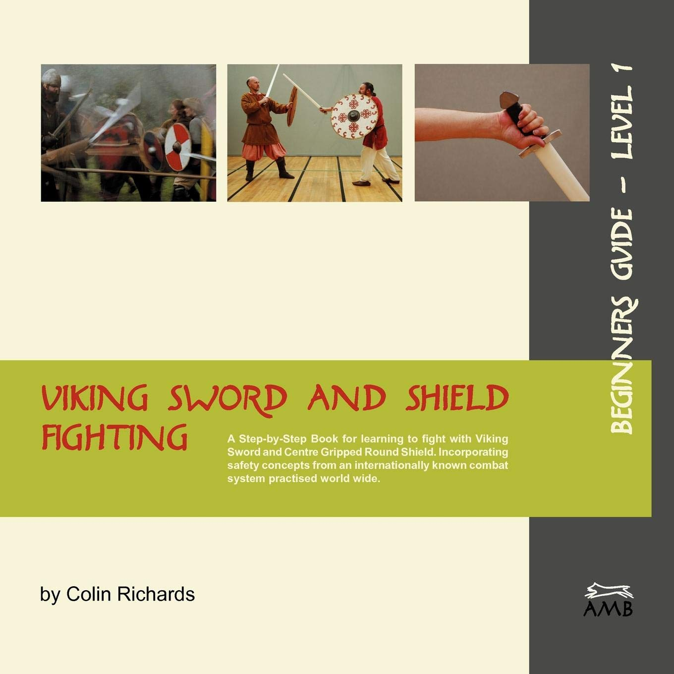 Viking Sword and Shield Fighting  Beginners Guide Level 1 por Colin Richards