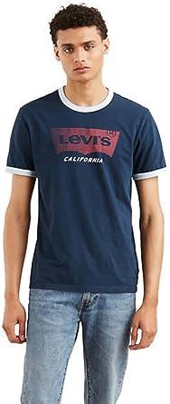 Levis Camiseta Levis Hombre Color 0007 Marin Rojo Talla: Size XXL: Amazon.es: Ropa y accesorios