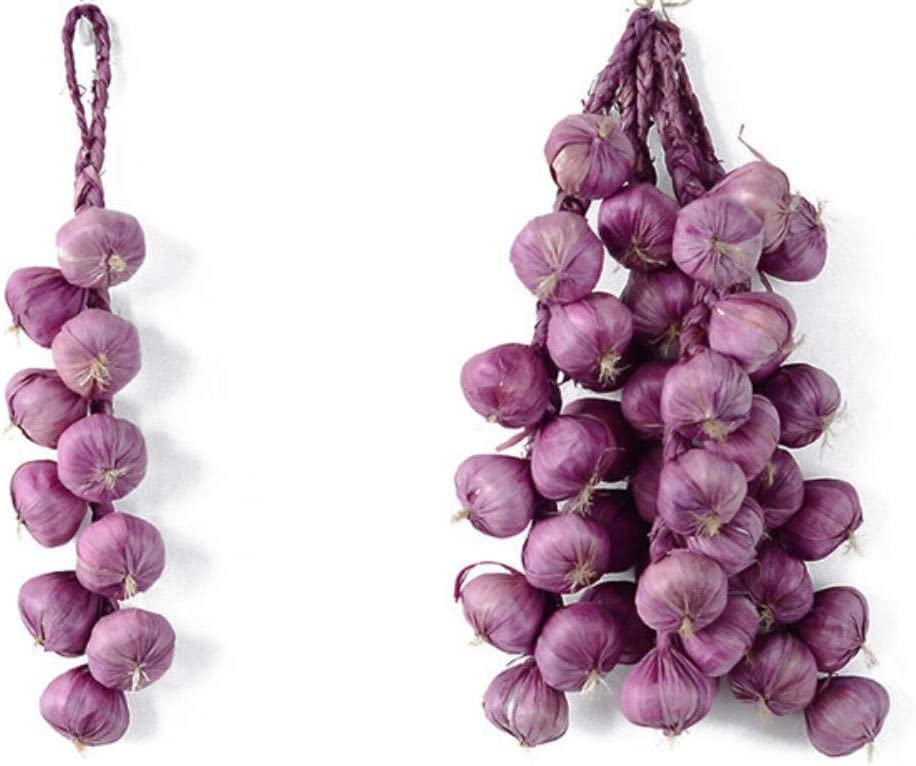 LSCC Decor Forniture Decorativi Artificiali Finti di Frutta Schiuma realistica Verdura Cipolla Aglio Forniture per Decorazioni da Cucina Rosa Intenso