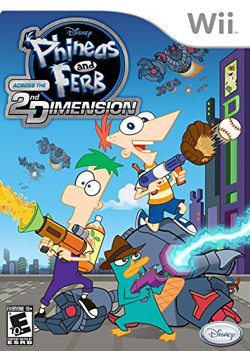 Phineas and Ferb: Across the 2nd Dimension - Nintendo (Kids Toys Channel Halloween)