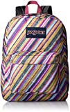 JanSport Superbreak Backpack- Sale Colors (Multi Texture Stripe)