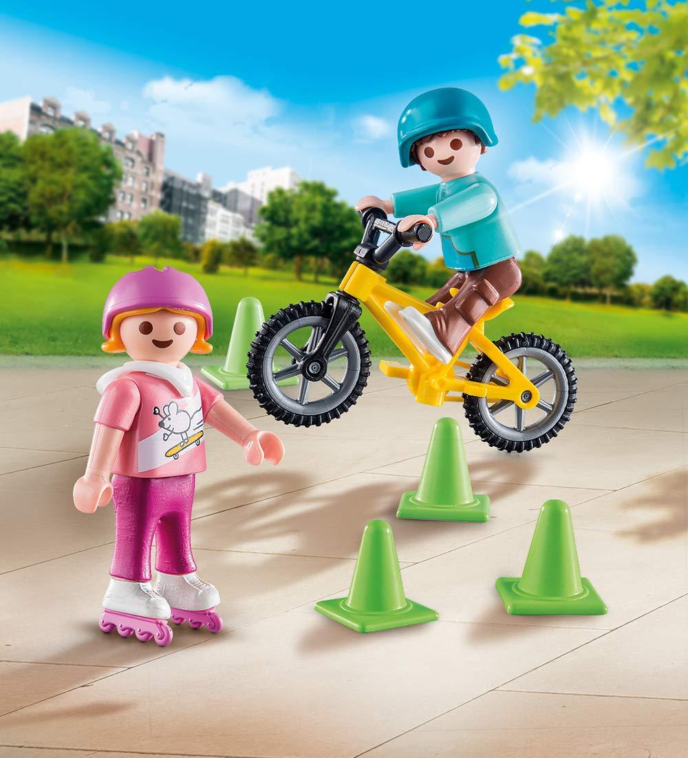 Playmobil 70061 Special Plus Niños M. Patines en línea y BMX: Amazon.es: Juguetes y juegos