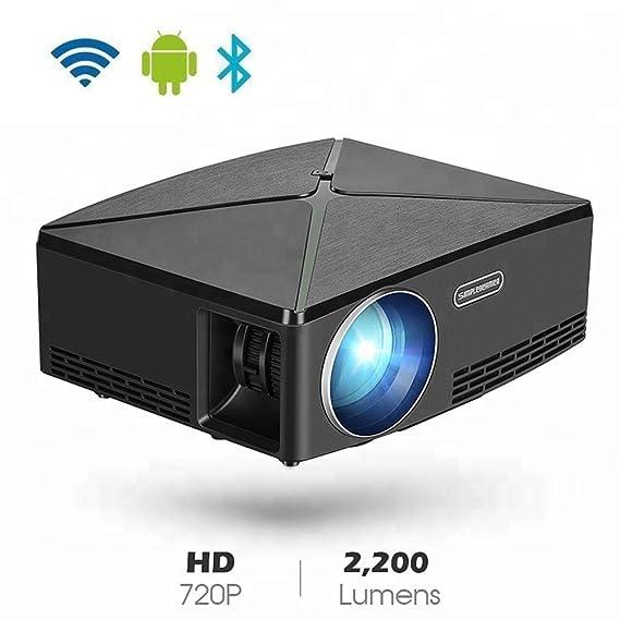 H.L Mini Smart HD1080P proyector, teléfono de Cine en casa móvil ...