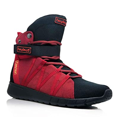 891a5d9bdbe2 Heyday Footwear Mutant Edition Super Freak 2.0 High Top Sneaker for Cardio  and Bodybuilding - Size
