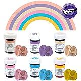 Wilton Icing Colour Gel Paste Pastel Colours Set - 6x 28g