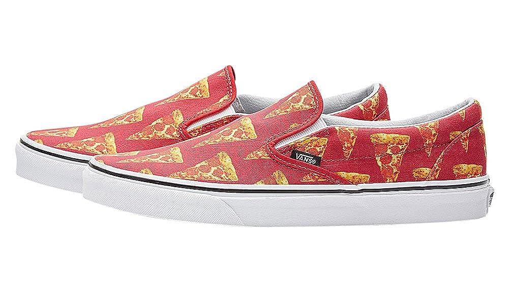 Vans - Mocasines de Lona para Hombre, Color Rojo, Talla 5.0: Amazon.es: Zapatos y complementos