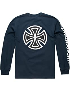 968afc019758 HUF x Spitfire Bighead Pullover Hoodie ·  80.00 -  89.99 · Independent Mens  Bar Cross Regular Long Sleeve T-Shirt