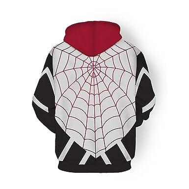b7be2f125 Men Women Spider-Man Hoodie Spider Gwen 3D Hoodies Sweatshirts ...