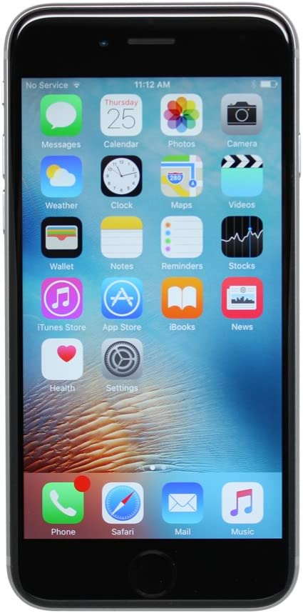 Apple Iphone 6S Plus, 128Gb, Space grau - für At&T / T-Mobile (Renewed)