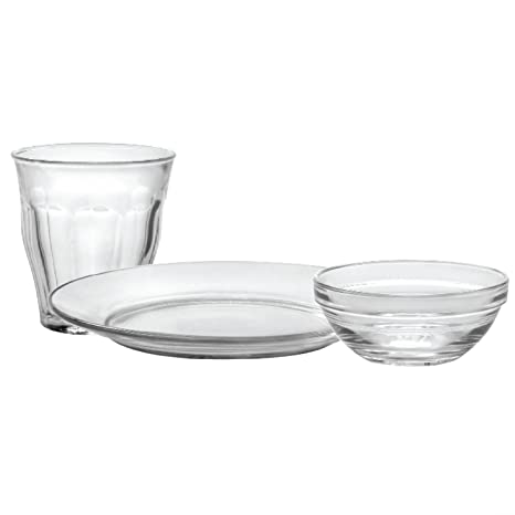 Duralex Made In France Kids 12-pc Glass Set. Set Includes (4)  sc 1 st  Amazon.com & Amazon.com: Duralex Made In France Kids 12-pc Glass Set. Set ...
