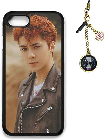 Amazon Com Fanstown Kpop Exo Iphone 7 Iphone 8 Case Don T Mess Up My Tempo Album Logo Pendant H55