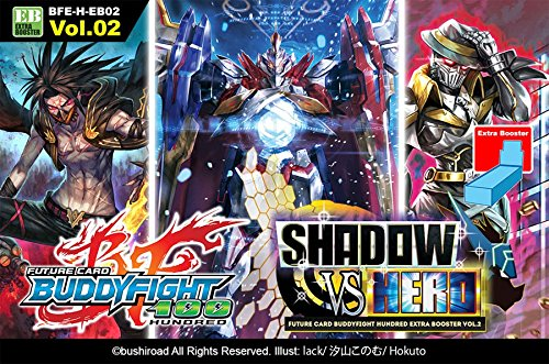 Future Card Buddyfight TCG English BFE-H-EB02 Shadow Vs Hero Extra Booster Box - 15 packs