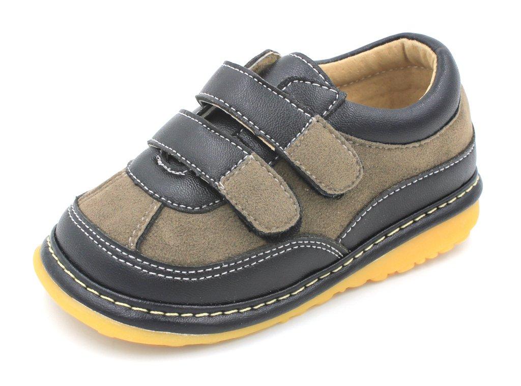 Black Suede Boy Sneaker Squeaky Shoes (6)
