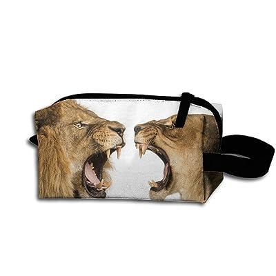 Travel Bag Lions Crying Toiletry Bag Clash Durable Zipper Wallet Makeup Handbag With Wrist Band good