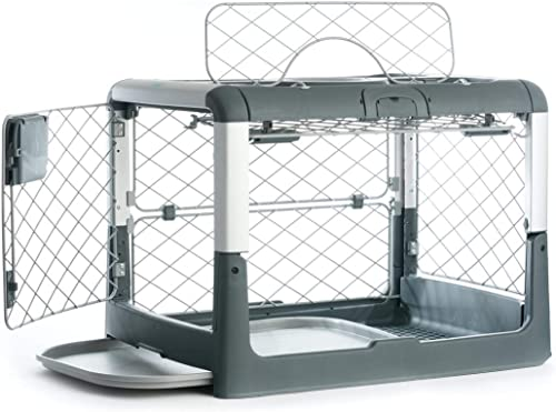 Diggs-Revol-Small-Dog-Crate-Portable-Travel-Dog-Crate-with-Collapsible-Kennel-Walls