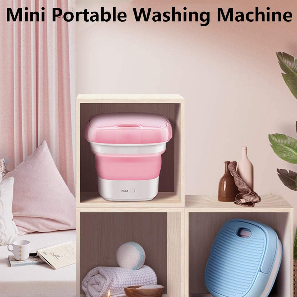 ghdonat.com Blue xfyx Mini Washing Machine Foldable Bucket Type ...