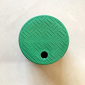 Sprinkler System Irrigation 6-inch 10-inch Circular Valve Box Lid Cover Garden Lawn Irrigation Water Base Cover (6 inch (2-Pack))