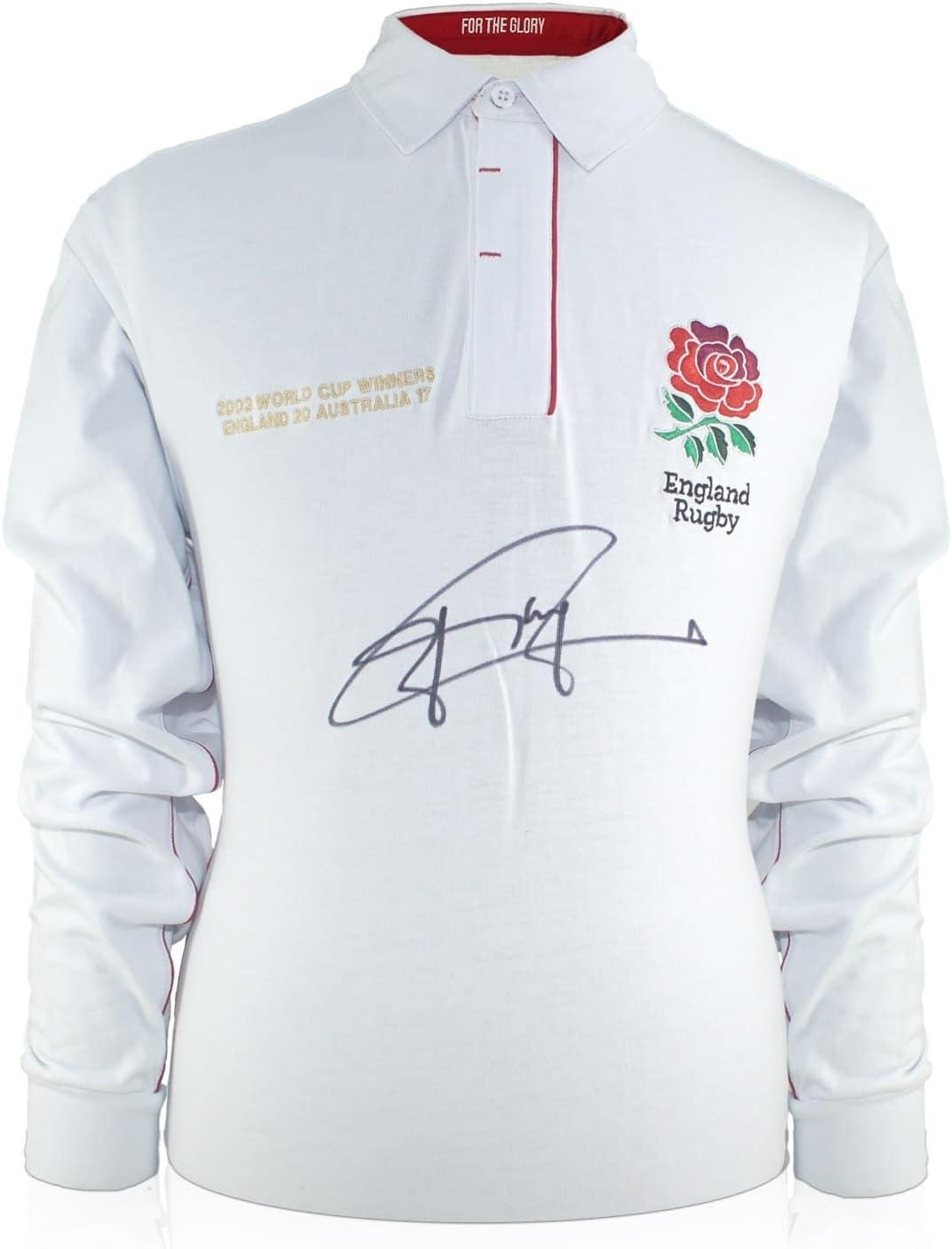 Exclusive Memorabilia Jonny Wilkinson - Camiseta de Rugby, diseño ...