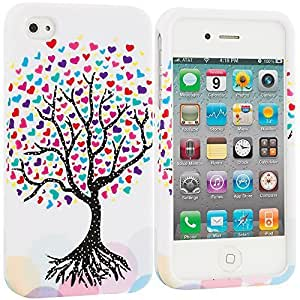 fashion case Love Tree on White Hard Snap-On Design Rubberized Case Cover Accessory for Apple iPhone 5c