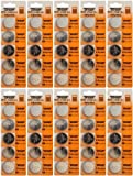 50 x CR2450 Lithium Coin Cell Batteries