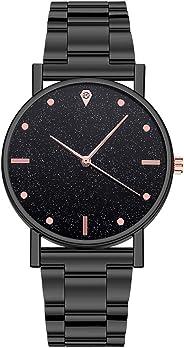 Kekebest 2020 New Womens Luxury Watches Quartz Watch Sale Fashion Stainless Steel Dial Casual Bracele Watch Rhinestone